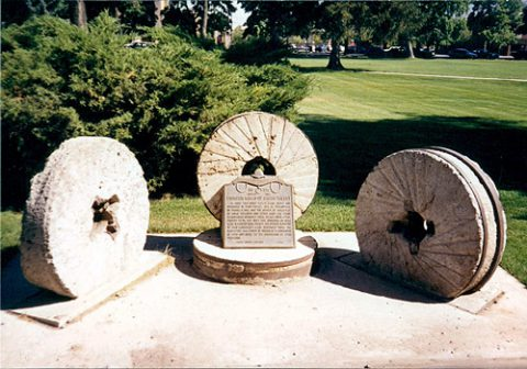 Old Millstones Monument