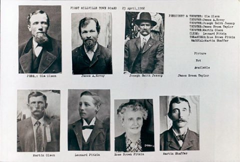 First Town Council - 1902